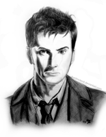 David Tennant - Doctor Who by BurdMcLeod