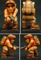 Metal Slug Tarma by Hobbittzu