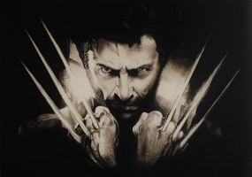 Wolverine by astrogoth13