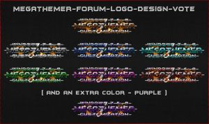 MEGATHEMER-Forum-Logo-Design2 by mTnHJ