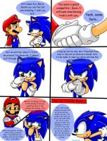 Mario and Sonic Comic by Sonar15