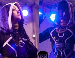 Tali'Zorah Vas Normandy by Adlez-Axel