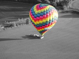 hot air balloon by zenzo1986