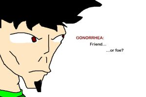 Gonorrhea in human form by IV-Davis