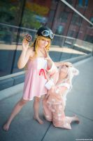 Bakemonogatari - Don't touch my donut by GiH-Crafting