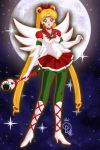 Christmas Sailor Moon by Cobrawolf86