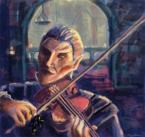 Vingalmo the Violinist by drakkenfan