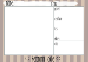 Kemonomimi Cafe: Cocoa Application by DoctorFabulous