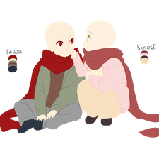Scarf couple by animelover876