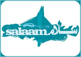 T-Shirt Design - Salaam_Peace by DonQasim