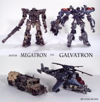DOTM Megatron's Resurrection by Unicron9