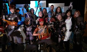SDCC 2012 - The BioWare Cosplayers by RebelATS