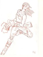 Chell WIP by EricGroff