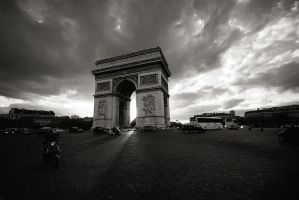arc de triomphe by PaLiAnCHo