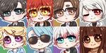 [FREE TO USE] Mystic Messenger Icons by Tsaric