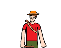 Anthony as a lumberjack by blackevil915