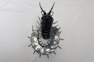 Giant Centipede by HubcapCreatures