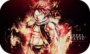 Signature - Natsu Dragneel by TifaxLockhart