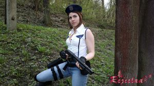 Jill Valentine RE1 STARS Arrange Mode outfit XI by Rejiclad