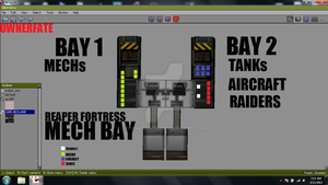 Repaer Fortress Mech Bay Map by ownerfate