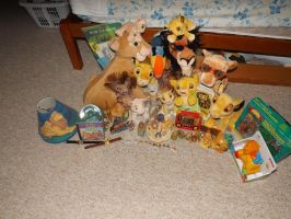 Lion king my entire collection by Mazii13
