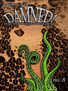 Cook-zine of the Damned Issue 08 Cover by romanysoup