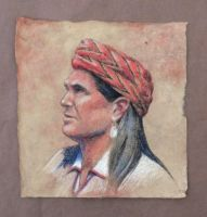 Red Turban by AinsleyM
