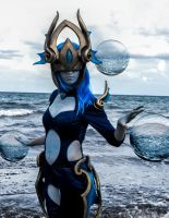 Atlantean syndra cosplay by HadaLoka
