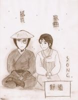 Song and Zuko by narniamushroom02