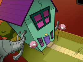 Zim's House by Sapphire4723