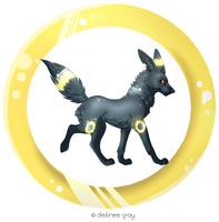 Umbreon by iRaynebow