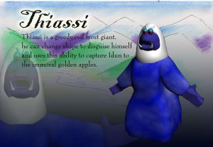 Thiassi the frost giant