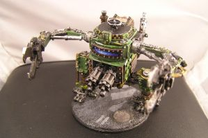 Ork Dreadnought by Cakefoolio