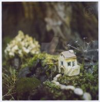 Tiny House In The Garden by Ninina-nini