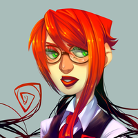 More Painting Practice by Krooked-Glasses