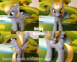 Derpy Hooves Custom Pony by saucycustoms