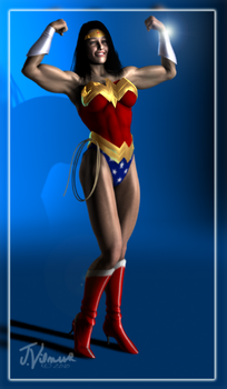Diana of the Amazons by NVent3d