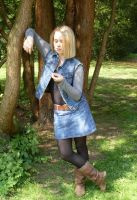 Android 18 Cosplay 3 by Satine-Lamort