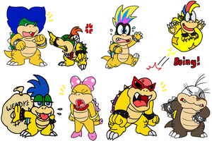 koopa kollab by Nintendrawer