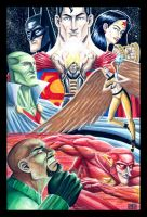 Dragon Sagas JLA by IADM