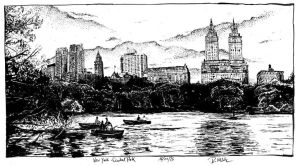 New York - Central Park by RoodyN
