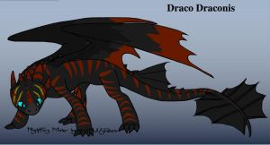 Draco In Night Fury Form by Lord-DracoDraconis