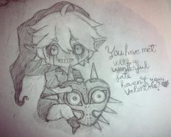 Ben Drowned-Valentines by SaniSaur