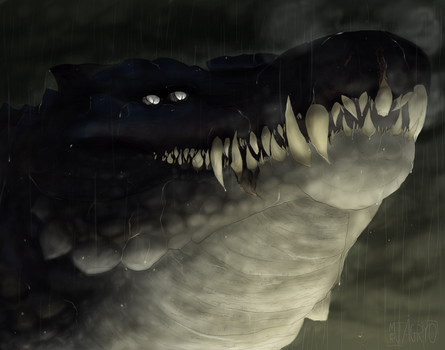 The Leviathan of the Evermarsh | Personal by Agryo