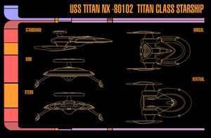 TITAN CLASS STARSHIP PROFILES by Goanimator