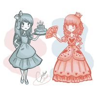Alice Vs. The Queen of Hearts by NAD-LifeOfficial