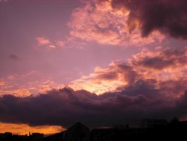 Sunset Over Berlin 99 by ErinM2000