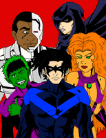 The Titans by thoughtless4ever