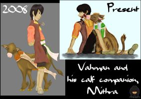 Vahman + Mithra - Then and Now by Sho-saka