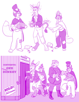 Dumbasses never learn (Hornbuckle) by macguffin78
